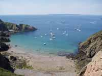 View from La Coupée on Sark